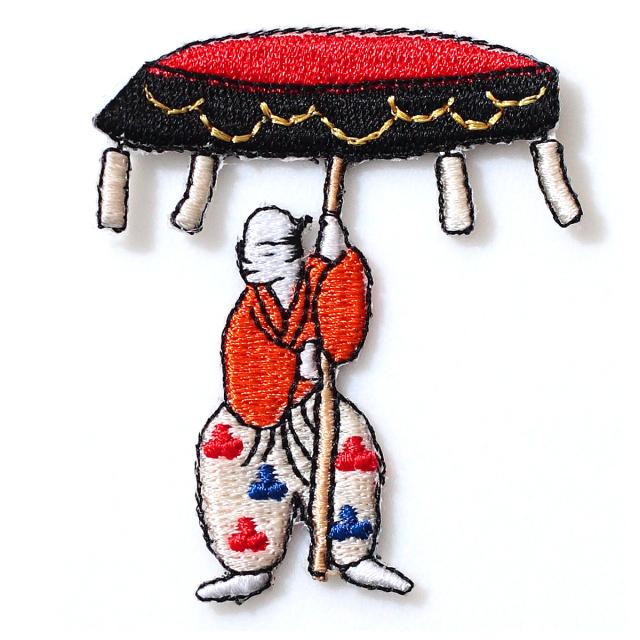 KYWS-004/ワッペン/花傘衆/【DM便可】