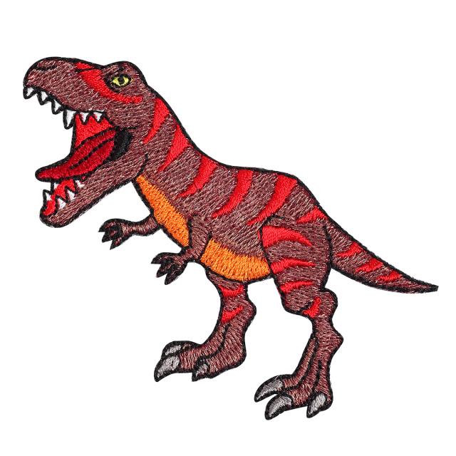 KYWS-1000/ワッペン/ティラノサウルス/【ゆうパケット可】