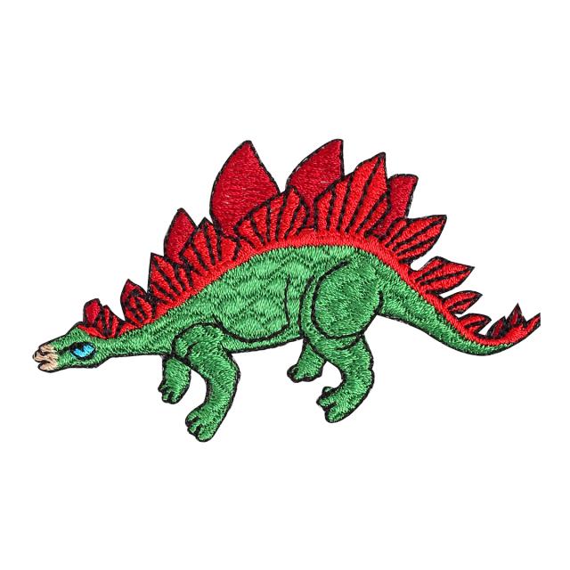 KYWS-1004/ワッペン/ステゴサウルス/【ゆうパケット可】