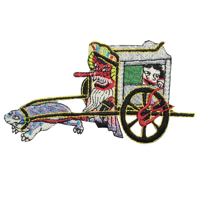 KYWS-150/ワッペン/朧車/おぼろぐるま/【DM便可】