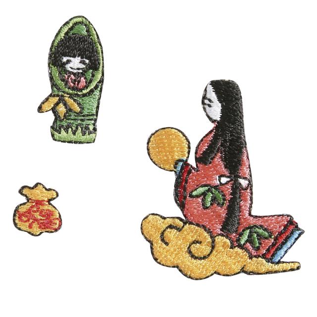 KYWS-158A/ワッペン/かぐや姫/【DM便可】