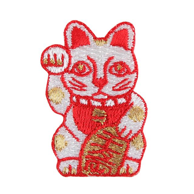 KYWS-162E/ワッペン/招き猫/【DM便可】