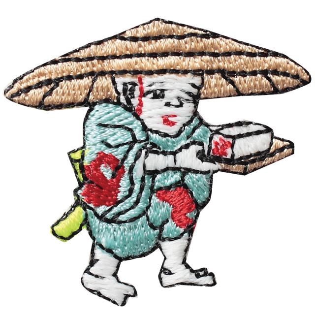 KYWS-195/ワッペン/豆腐小僧/とうふこぞう/【ゆうパケット可】