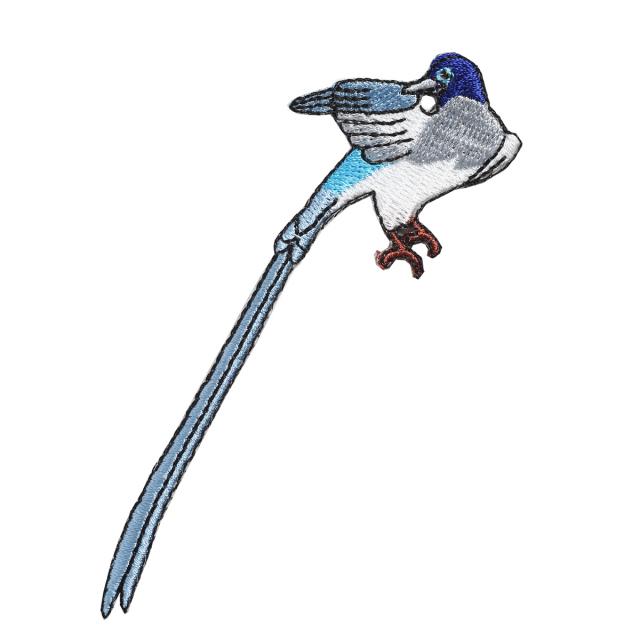 KYWS-716/ワッペン/三光鳥/さんこうちょう/【DM便可】