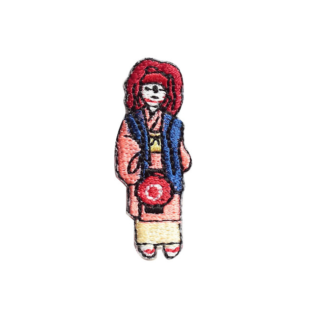 KYWS-820/ワッペン/祗園祭 赤熊/しゃぐま/【DM便可】