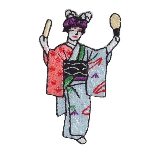 KYWS-850/ワッペン/踊り子2/【ゆうパケット可】