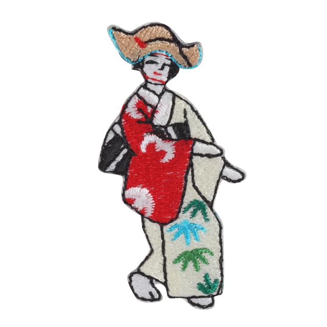 KYWS-851/ワッペン/祇園祭雀踊り/【ゆうパケット可】