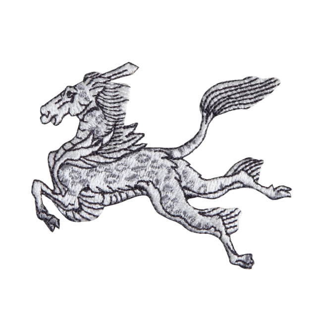 KYWS-974/ワッペン/麒麟(きりん)/【ゆうパケット可】