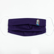 KY37-969PE/マスク/アマビエ(紫)/【6枚までゆうパケット可】