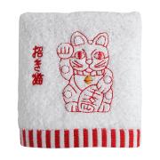 KY95-162/ハンドタオル/招き猫/まねきねこ