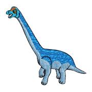 KYWS-1005/ワッペン/ブラキオサウルス/【ゆうパケット可】