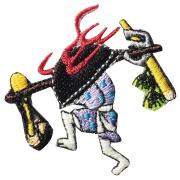 KYWS-118/ワッペン/鍋坊主/なべぼうず/【ゆうパケット可】