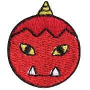 KYWS-274/ワッペン/赤鬼/【ゆうパケット可】