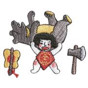 KYWS-456/ワッペン/金太郎/【DM便可】