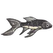 KYWS-609/ワッペン/鉄魚/てつぎょ/【DM便可】