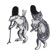 KYWS-677/ワッペン/蛙と猫/かえるとねこ/【ゆうパケット可】