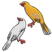 KYWS-707/ワッペン/金有鳥/かなりあ/【DM便可】