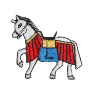 KYWS-811/ワッペン/飾り馬/かざりうま/【DM便可】