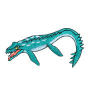 KYWS-1009/ワッペン/モササウルス