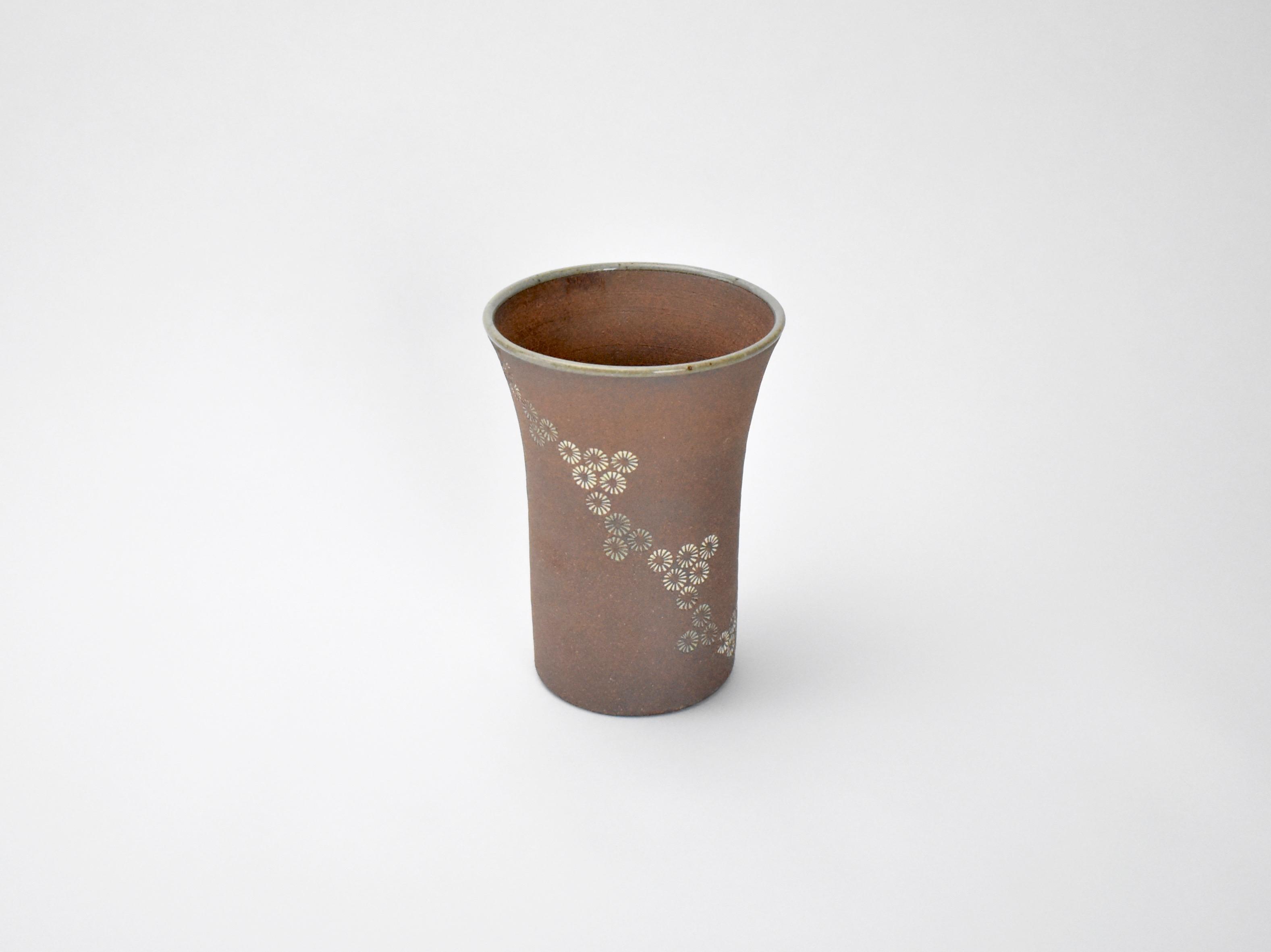 流れ三島 ビアカップ