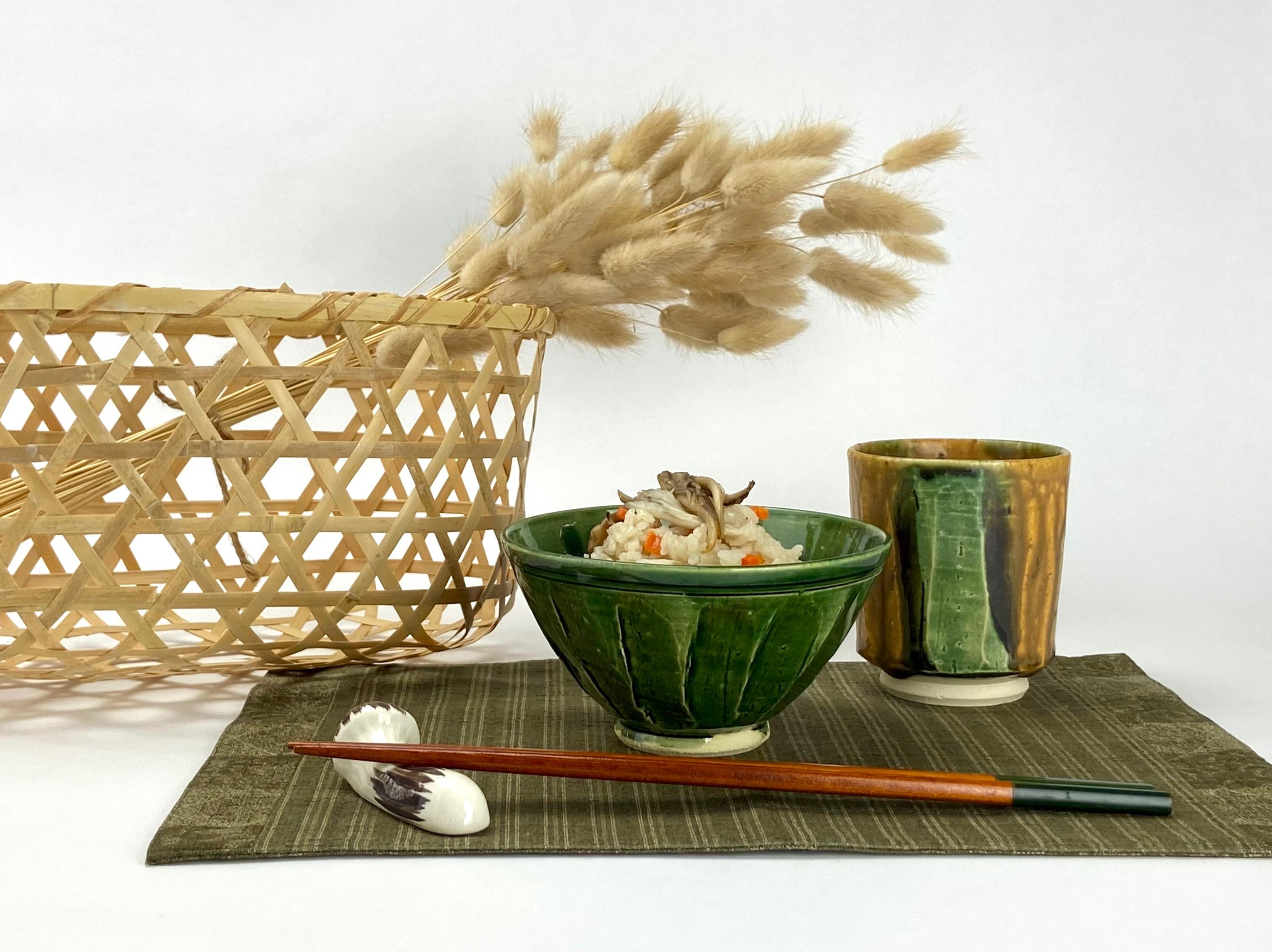 織部茶碗A