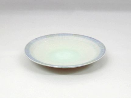 灰釉小皿(青)