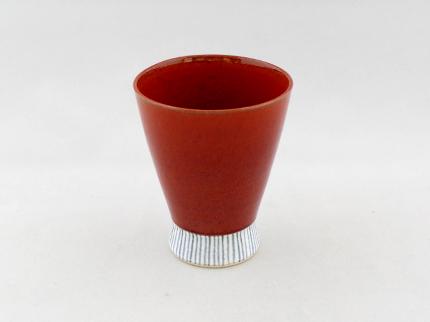 和モダンフリーカップ(柿色)