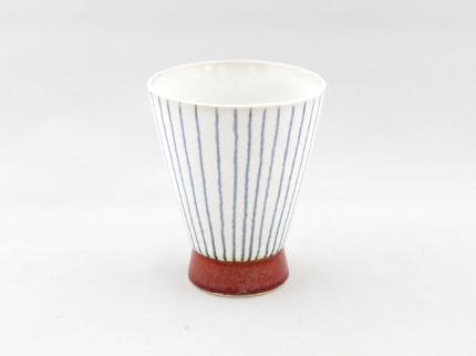 和モダンフリーカップ(ストライプ)