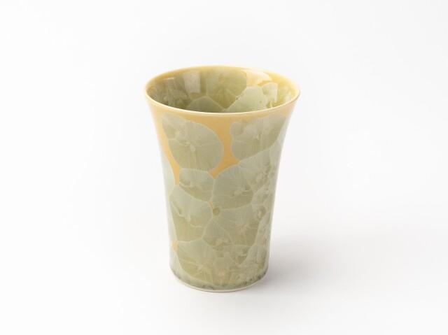 花結晶フリーカップ (黄)