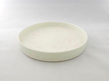 桃白釉 皿