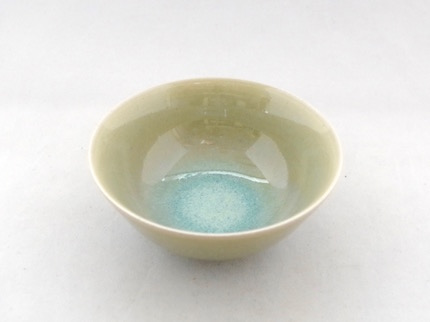 緑釉 小鉢