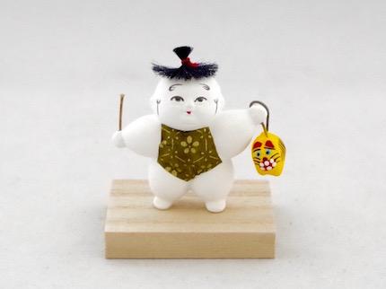 豆御所人形 虎猫