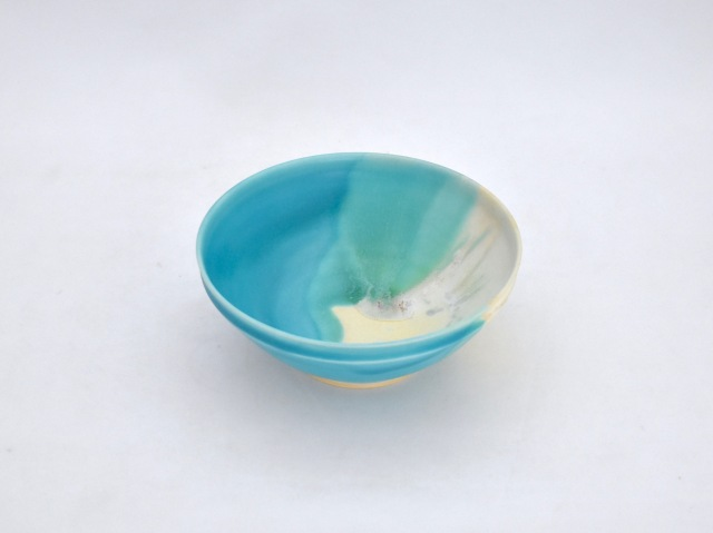 蒼×白 掛分鉢