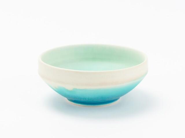 蒼×白 掛分小鉢