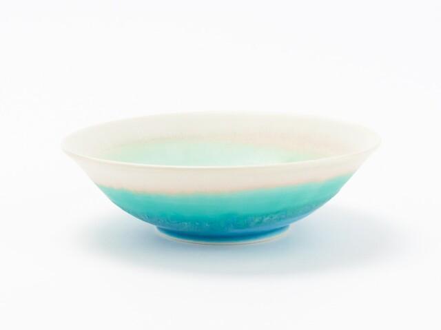 蒼×白 掛分鉢 エメラルド