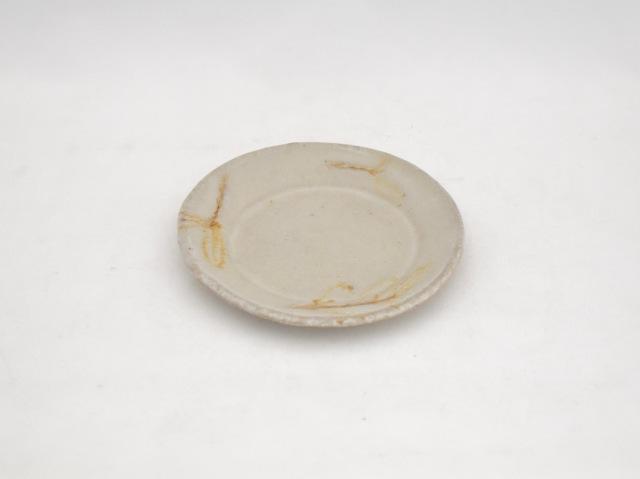 丸小皿 オリーブの葉 ベージュ