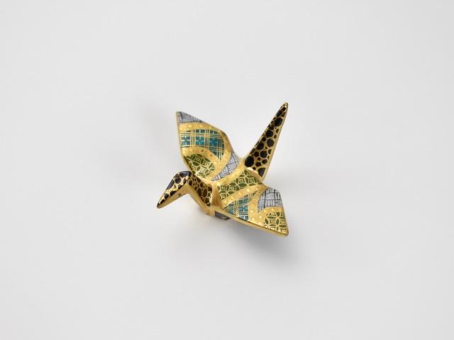 金彩折り鶴はしおき 6