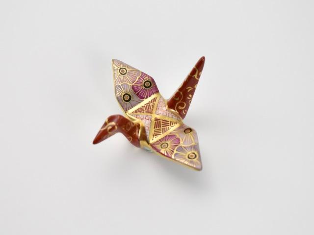 金彩折り鶴はしおき 9