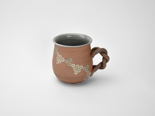 流れ三島 マグカップ