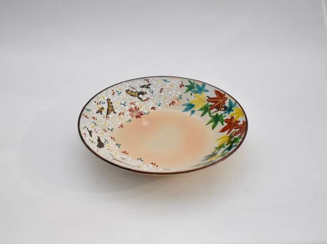 雲錦 八寸皿