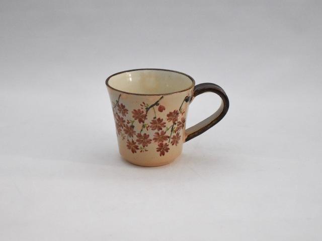 桜のマグカップ