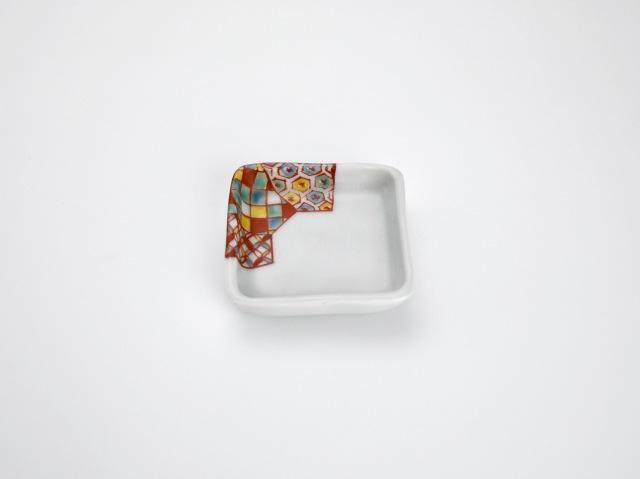 色絵 小紋小皿