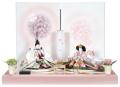金彩 ほのか桜 【雛人形 ひな人形】【初節句】【送料無料】【代引き手数料無料】【親王飾り】【二人飾り】【雛祭り】