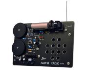 【教材 バラエティ工作キット】 「AM/FM  DSPラジオ」 はんだ付け工作キット