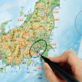 【知育玩具】書いて消せる日本地図