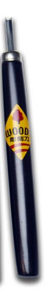 【学童用彫刻刀】 ウッディ彫刻刀 単品 三角刀3.0mm