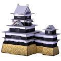 【hacomo段ボール工作キット】日本のお城 松本城