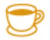 【消せるスタンプ】 フリクションスタンプ (お茶 インクオレンジ)