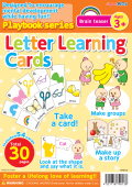 【教材 幼児】プレイブック英語版 もののなまえカード