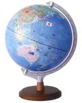国旗付き地球儀
